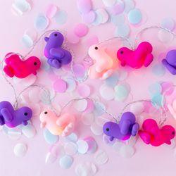 [쇼핑백증정] Canar LED Deco String - Hot pink+Pink+Purple