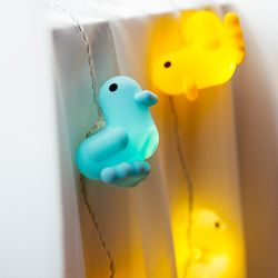 [쇼핑백증정] Canar LED Deco String - Blue+Yellow+White