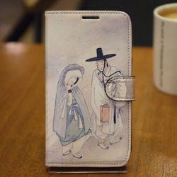 [Zenith Craft] LG G프로2 케이스 신윤복 월하정인