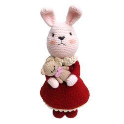 손뜨개인형 DIY-우리는친구(토끼+아기곰)