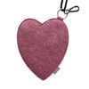 Melting Felt Heart card pocket (인디핑크)