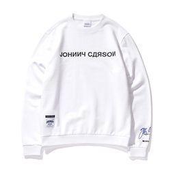 자니카슨 로고 스웨트셔츠 - WHITE