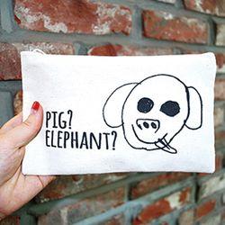버노 돼끼리 에코파우치