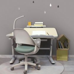 스마트 메이플책상+시디즈 링고 의자세트