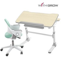 아이비 메이플책상+시디즈 링고 의자세트
