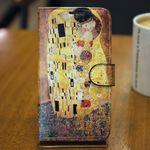 [Zenith Craft] LG G프로 케이스 명화 키스