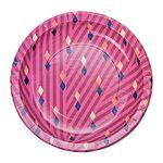 메리메리 핑크 종이접시 S (10p)