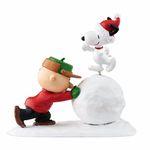 눈위에서 춤추는 스누피와 찰리브라운 (4051745)