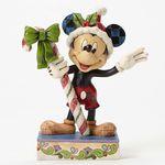 크리스마스 캔디를 든 미키마우스 (4051968)