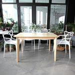 디노아 모리나1200 4인 식탁세트