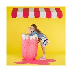 핑크 아이스크림 빈백