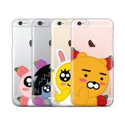 카카오프렌즈 꽃망울 투명젤리 아이폰5(s).SE 케이스