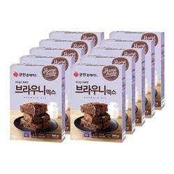 큐원 브라우니 믹스(전자레인지용) 10개 한박스