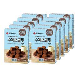 큐원 수제초콜릿믹스(전자레인지용)  10개 한박스