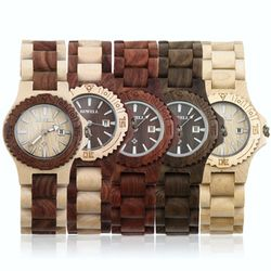 [비웰]Bewell The Compac 4컬러 여성전용우드손목시계