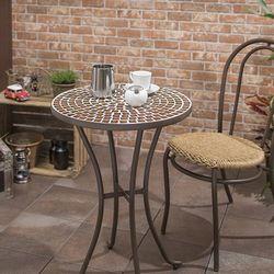 모자이크 카페 테이블