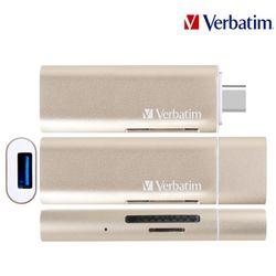 버바팀 타입C OTG 카드리더 + USB 3.0 허브