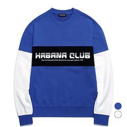 밴웍스 HAVANA 프린트 배색 스웨트셔츠 2colors