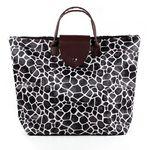 패션얼룩무늬 접이식 쇼핑백1개(디자인랜덤)