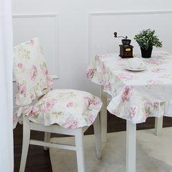 아멜리아 화이트 의자 등커버(단품)