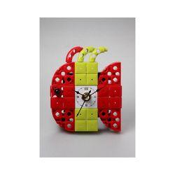 물고기4 블럭시계 (170314) 블럭레고형시계조립시계
