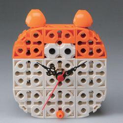 햄스터 블럭시계 (170185) 블럭레고형시계조립시계