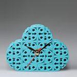 구름 블럭시계 (170222) 블럭레고형시계조립시계