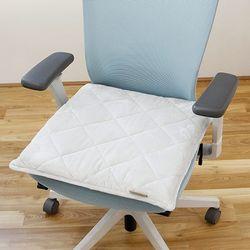 라텍스방석5cm(L)+그레이 차량용 사무실 학생 의자