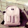 DOCUMENT BACKPACK (PINK BEIGE)