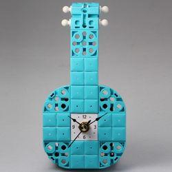바이올린 블럭시계 (170390) 블럭레고형시계