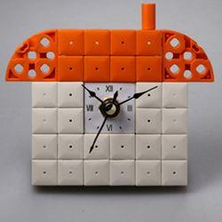 집6 블럭시계 (170239) 블럭레고형시계조립시계