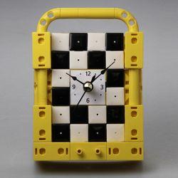 벽걸이시계1 블럭 (170338) 블럭레고형시계