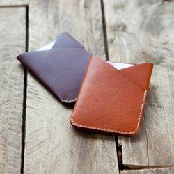 3621 V Pocket Card Holder Minerva (+Strap) -각인