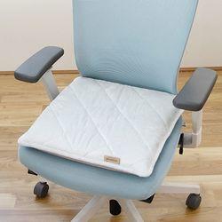 라텍스방석5cm(M)+그레이 차량용 사무실 학생 의자