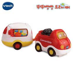 vtech 뛰뛰빵빵 이동식오픈카 RC작동완구자동차