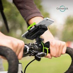 Connetick 2중고정 자전거 스마트폰 거치대