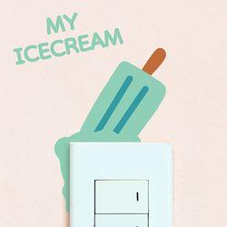 My icecream 스위치스티커