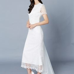 [클레어드룬] MERMAID LACE DRESS