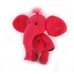 손뜨개인형 DIY-날아라코끼리