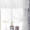 캐서린 로맨틱 화이트 쉬폰커튼 250x230(2장)