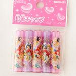 일본 디즈니 프린세스 연필캡 5P세트