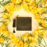 [무료배송] 태슬+미니에코백 French Card Wallet - Olive Green