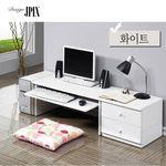 컴퓨터 테이블 좌식 800 협탁 400 세트  JE059