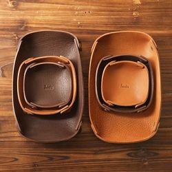 5611 Leather Tray Ver.2 -  Medium(각인)