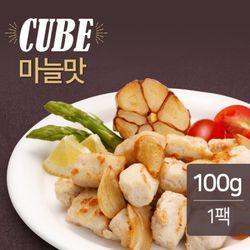 맛있닭 닭가슴살 볼 마늘맛 100g(1팩) / 훈제