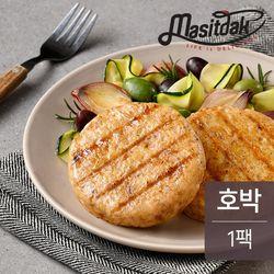 맛있닭 닭가슴살 스테이크 호박맛 100g(1팩)