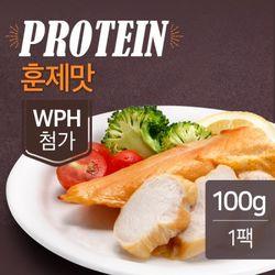 맛있닭 프로틴 훈제닭가슴살 훈제맛 100g(1팩)