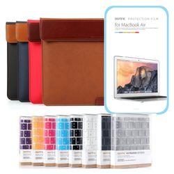 스탠드파우치2 키스킨 액정필름 SET for 맥북12