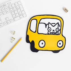 SNOWCAT MOUSEPAD - CAR
