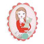 드제코 리틀빅룸옷걸이 소녀 (DD03281)